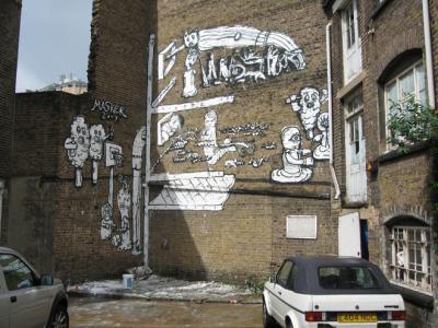 Londýn, archiv Masker