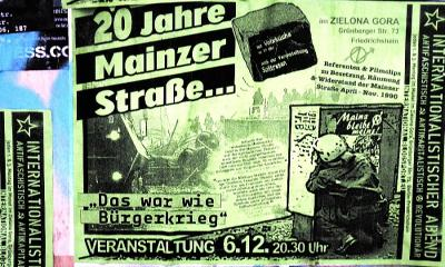 Räumung der Mainzer Straße