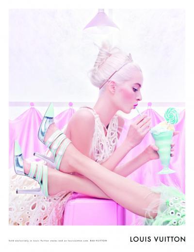 Reklamní kampaň Louis Vuitton Jaro/léto 2012
