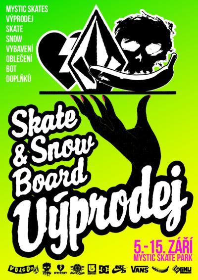 fe3835e39a3 repro k akci. Až do 15. září bude v Mystic Skate Parku výprodej skate a snow  oblečení a vybavení ze skladu a prodejny Mystic Skates ...