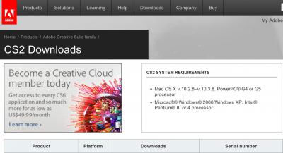 photoshop system requirements