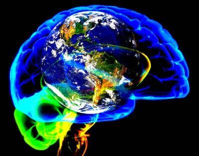 Mozek v Zemi / Země v mozku