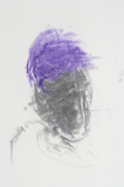 Foto galerie rudolfinum (z cyklu hlavy - hlava ve větru, výřez