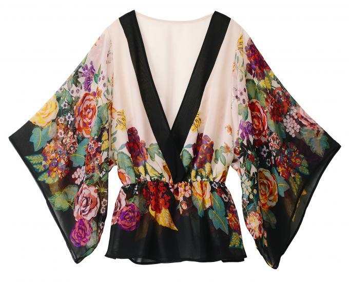 Блузки Кимоно