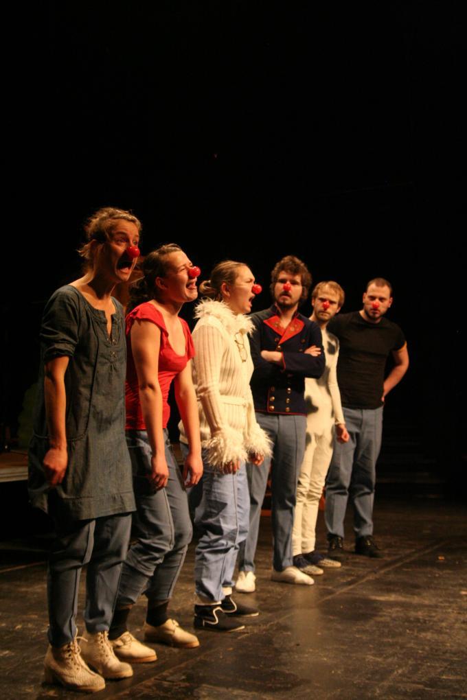 Hamlet v divadle DISK