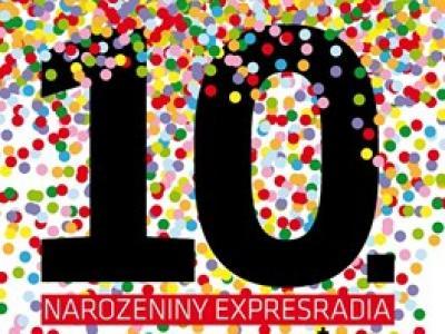 pozvánka na 10 narozeniny Expresradio oslaví 10. narozeniny koncertem | Proti šedi pozvánka na 10 narozeniny